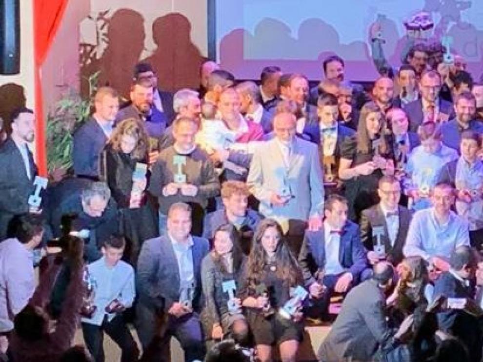Gala de Campeones 2018 de la Aragonesa