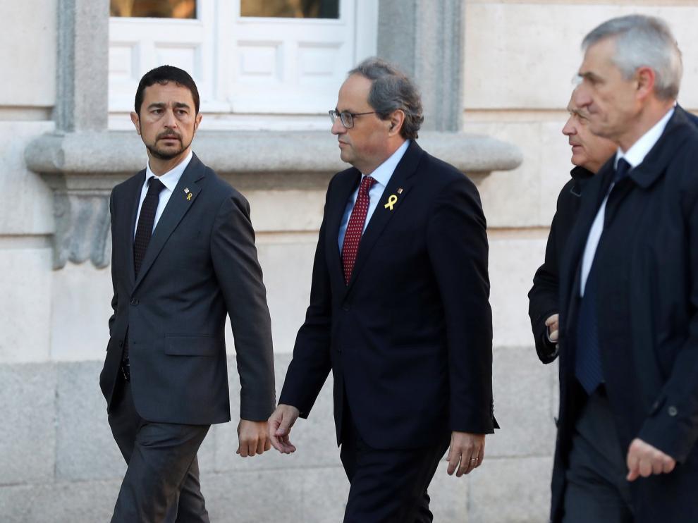"""Torra acude al Supremo por el juicio del """"procés"""""""