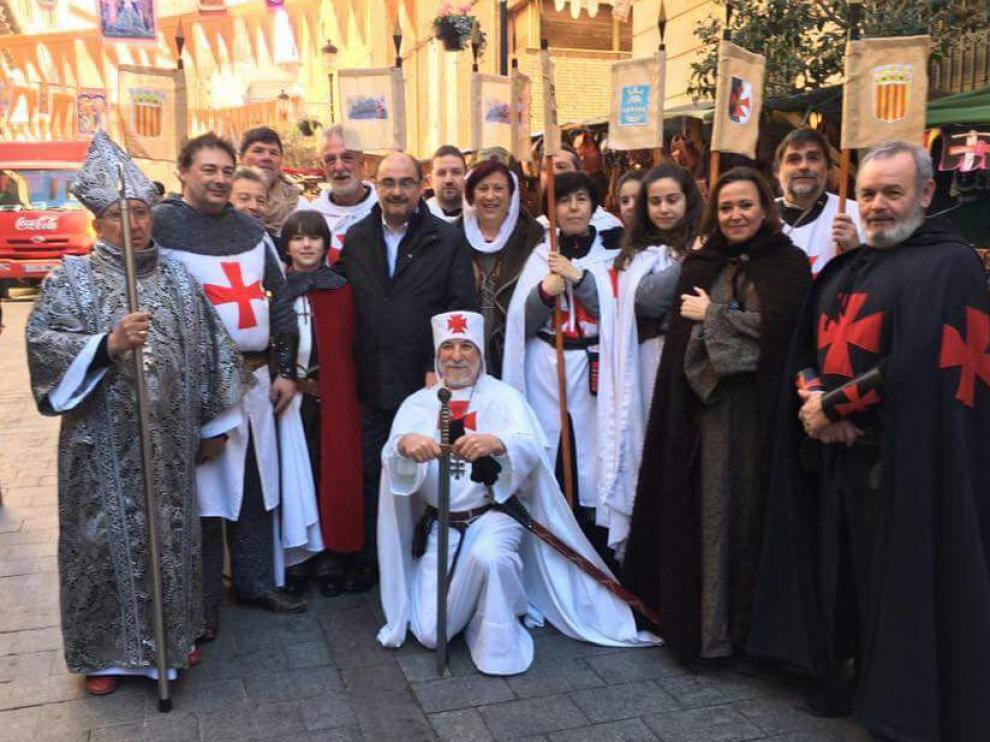 """Una delegación de """"templarios de Monzón"""" participará en Las Bodas de Isabel en Teruel"""