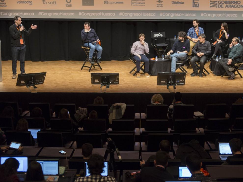 Seis nuevos proyectos periodísticos se presentan en el XX Congreso de Huesca
