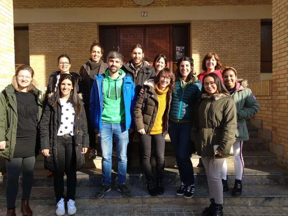 Emprendedores de Monegros reciben formación de la mano de Jóvenes Dinamizadores Rurales
