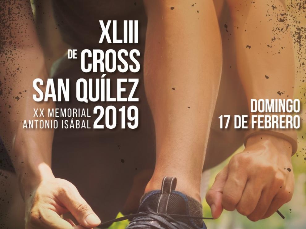 Binéfar celebra la XLIII edición del Cross de San Quílez - XX Memorial Antonio Isábal, el 17 de febrero