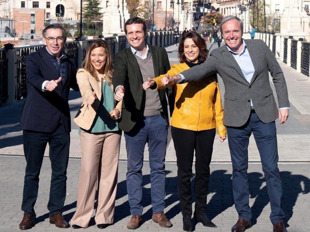 Casado respaldará en Huesca este sábado la candidatura de Alós a la Alcaldía