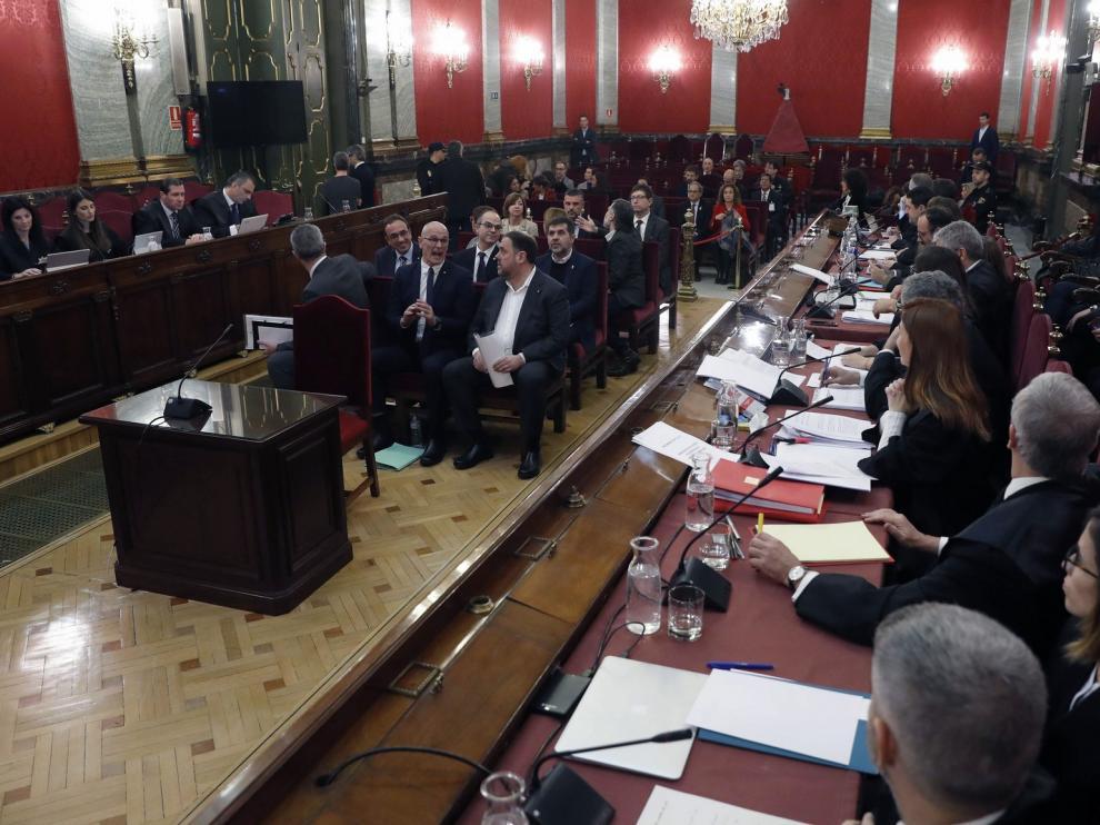 """Los acusados del procés critican """"falta de imparcialidad"""""""