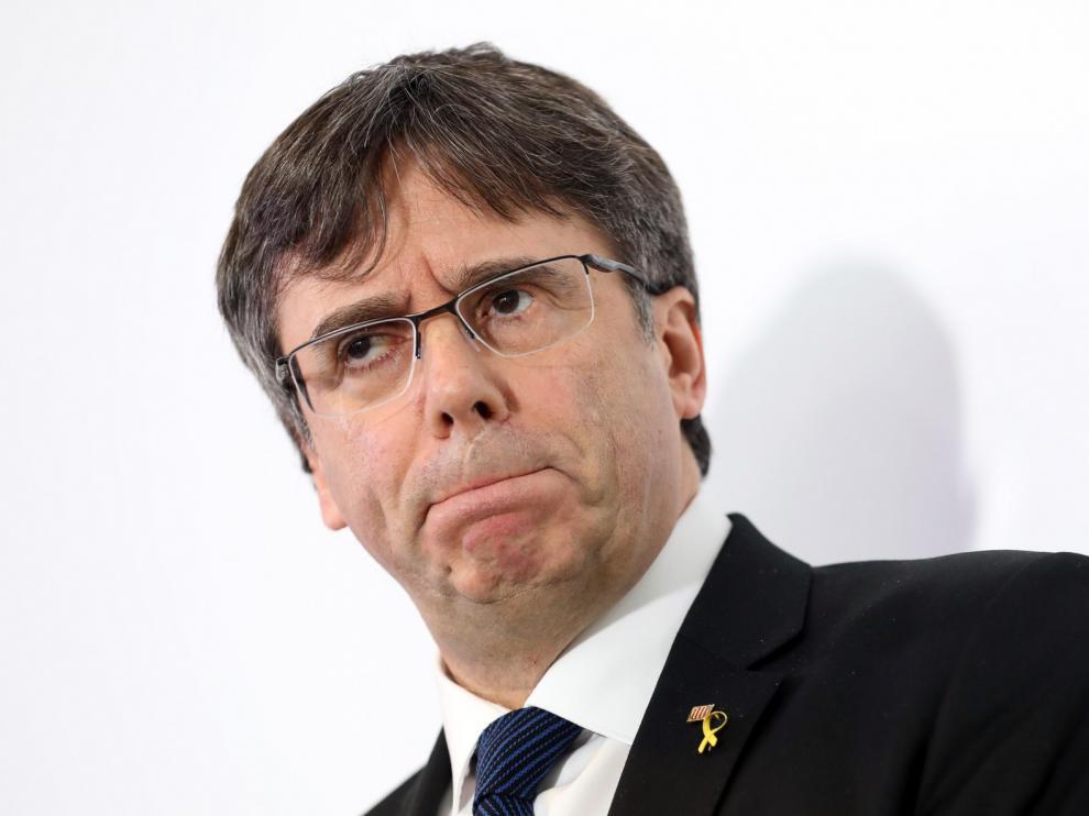 El TC anula la propuesta de investir a Puigdemont