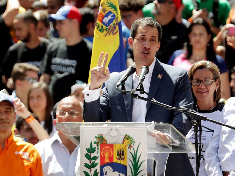 La ayuda humanitaria entrará en Venezuela desde el día 23