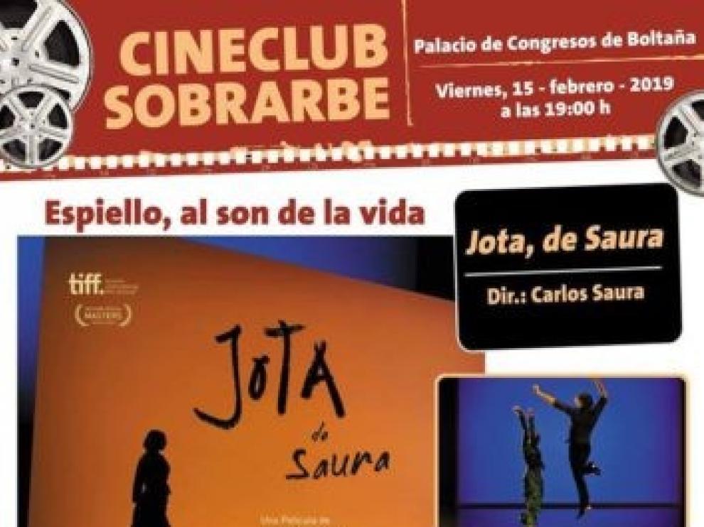 Miguel Ángel Berna participará en el cinefórum de 'Jota' de Carlos Saura en Boltaña