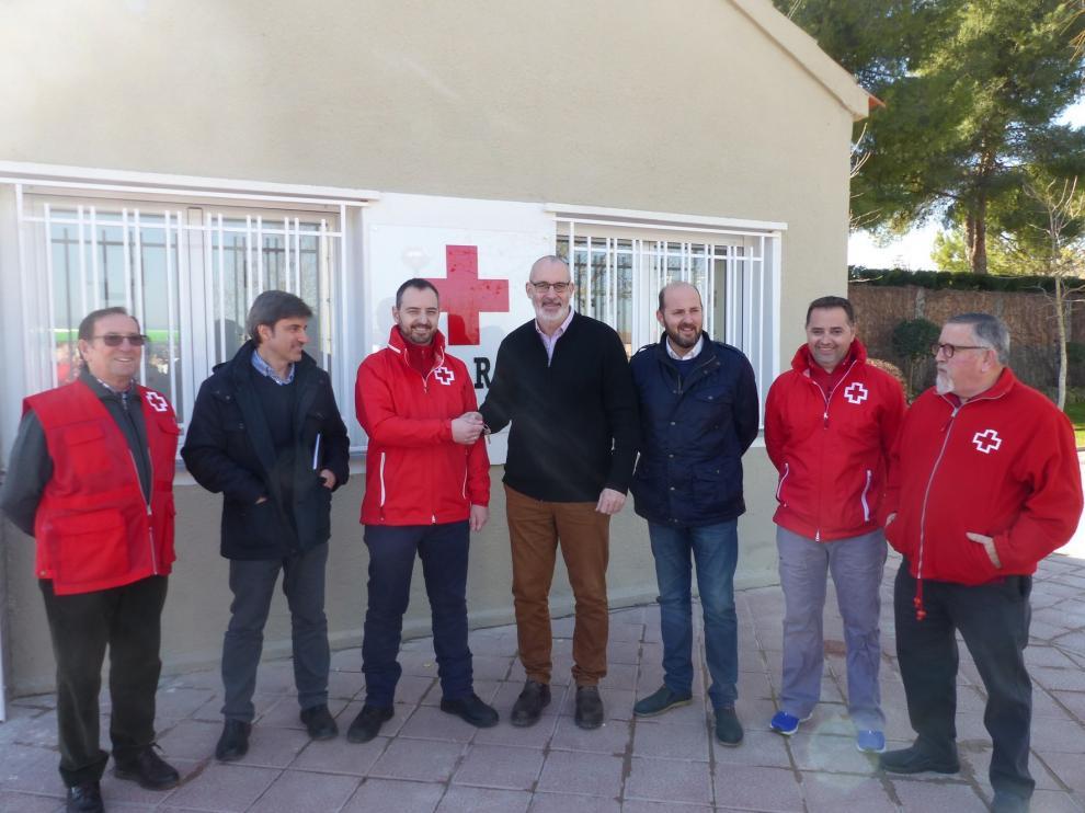 El ayuntamiento de Monzón cede a Cruz Roja el edificio de oficinas de la antigua Alvisa
