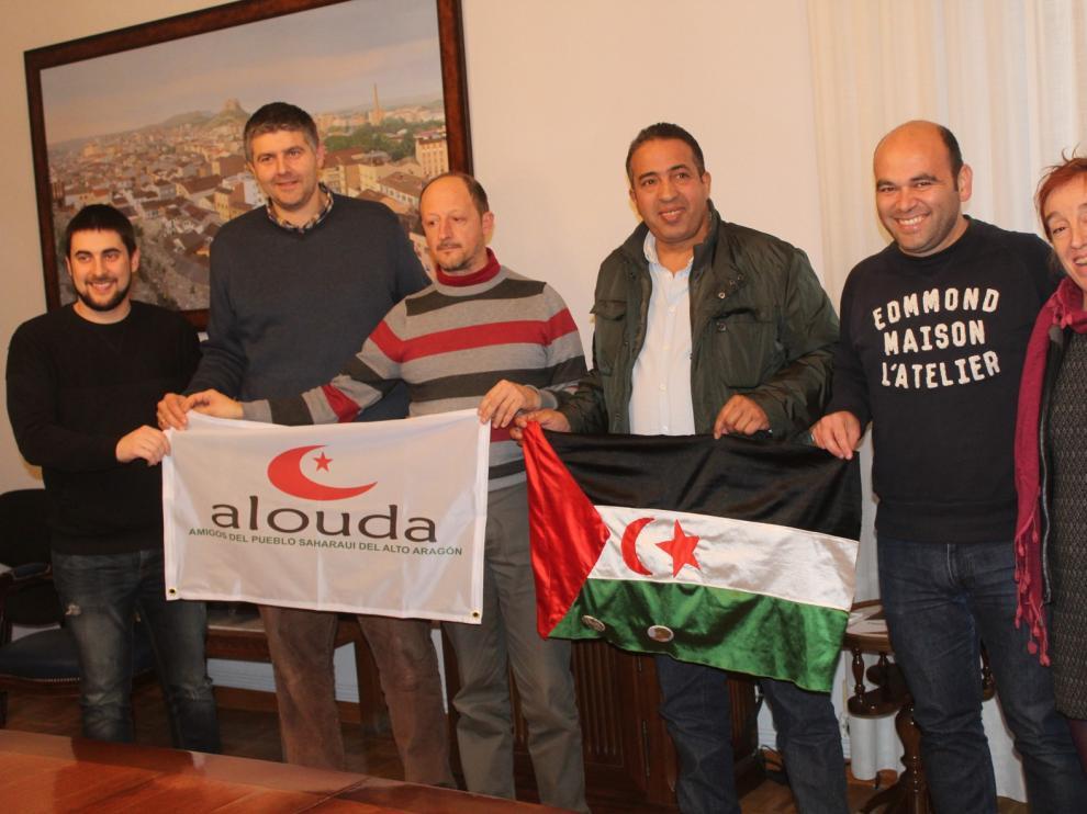 Ricardo de la Fuente, embajador altoaragonés en el Sahara Marathon