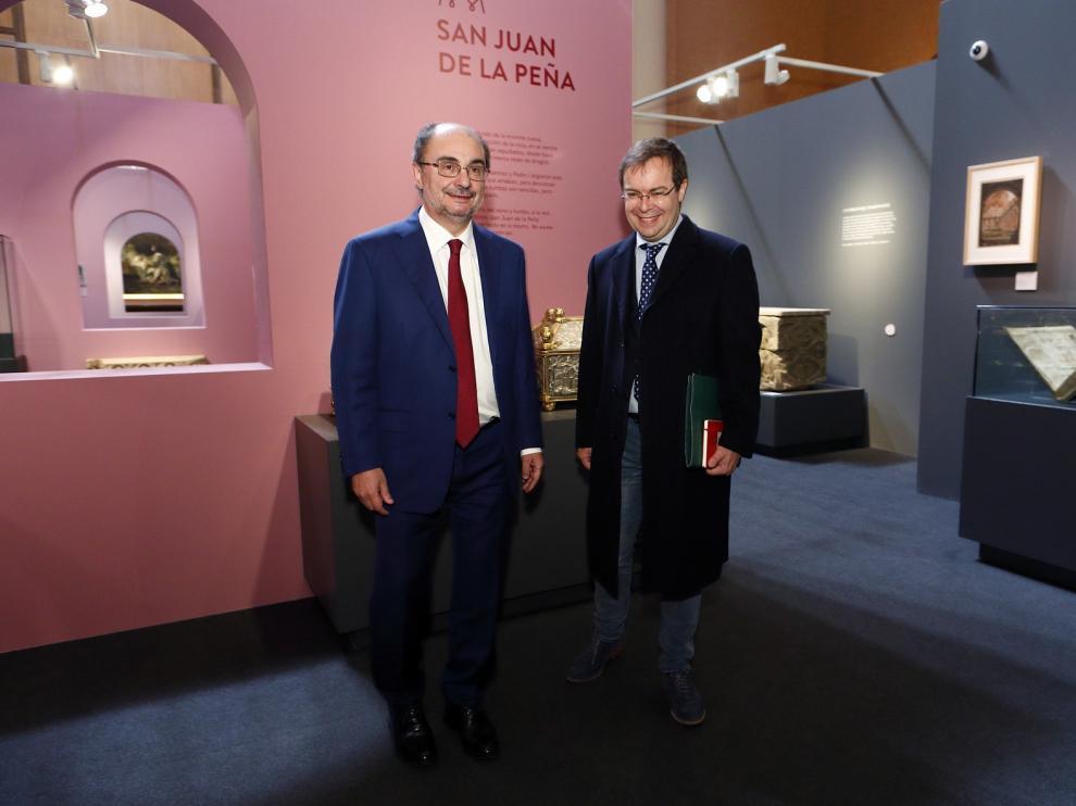 """Javier Sierra elogia la exposición """"Los Panteones Reales de Aragón"""""""
