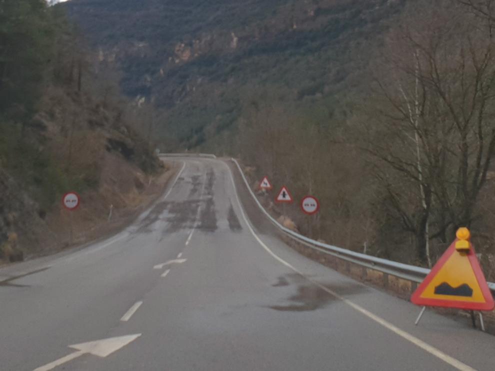 El PP formaliza en las Cortes su denuncia por el estado de la A-139 de Santaliestra a Morillo de Liena