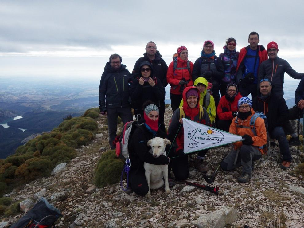 El Club Litera asciende al Pico Fragineto