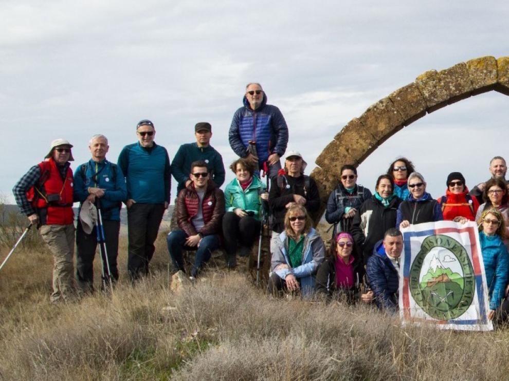El Club Montisonense descubre la ruta de Fraella