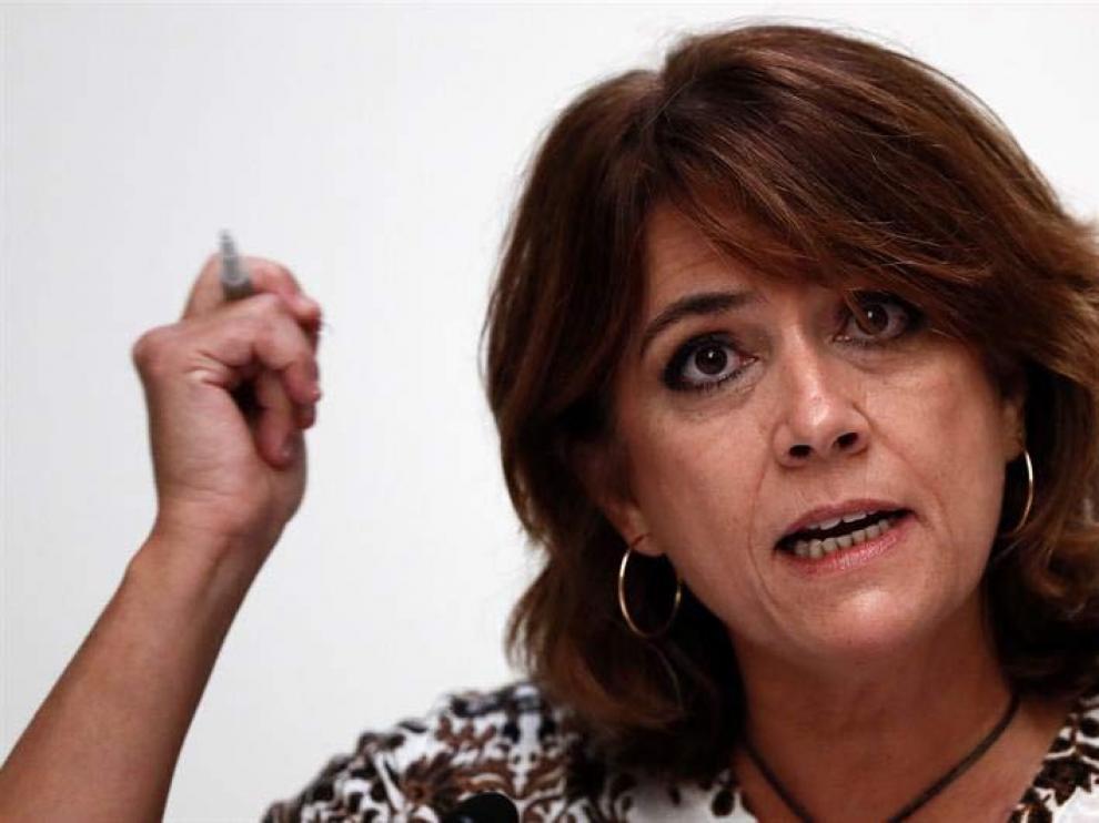 """Delgado acusa a """"la derecha trifálica"""" de haber manipulado la figura del relator"""