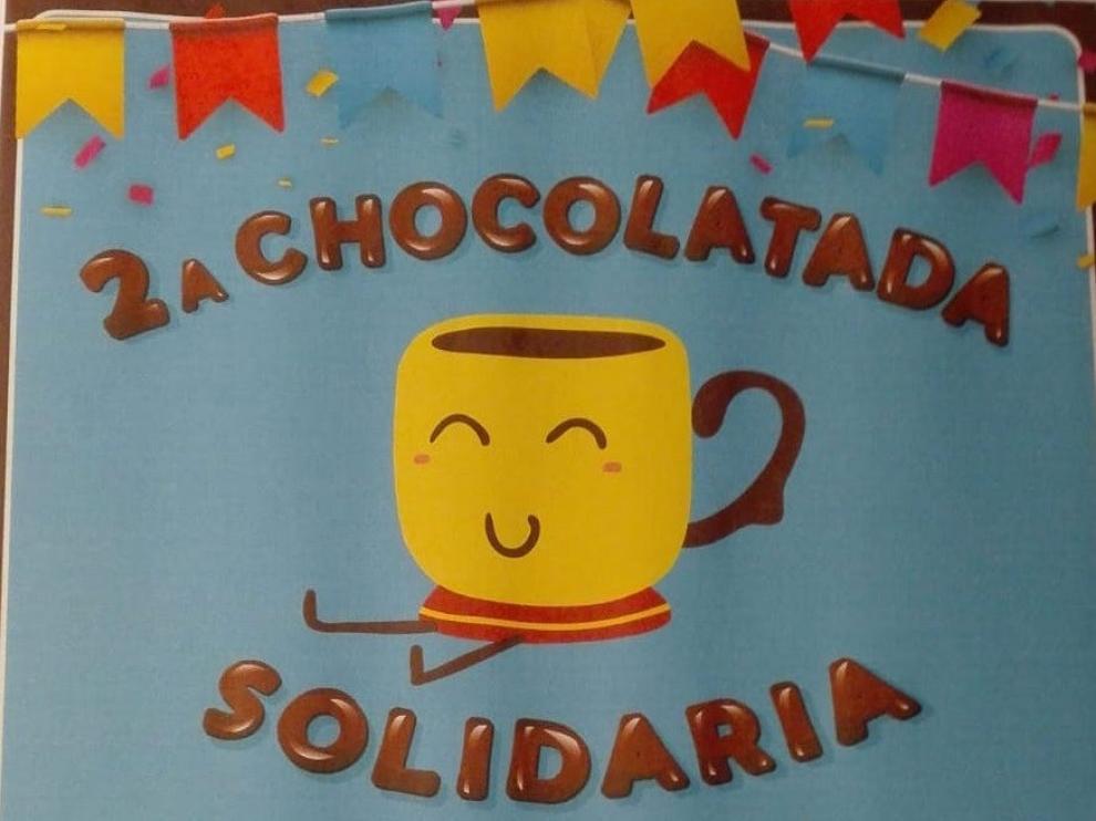 Pomar de Cinca reparte un chocolate solidario por la investigación contra el cáncer infantil