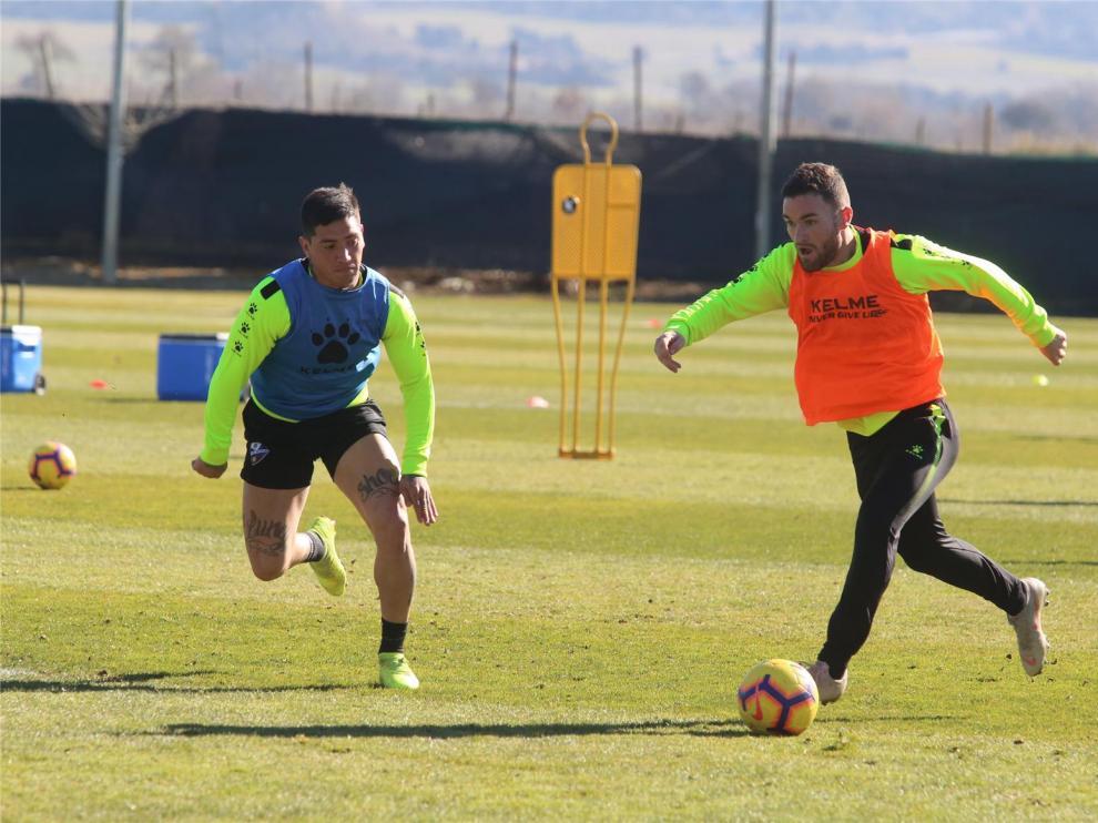 """Moi Gómez: """"El Huesca siempre ha creído y ha demostrado que estaba muy vivo"""""""