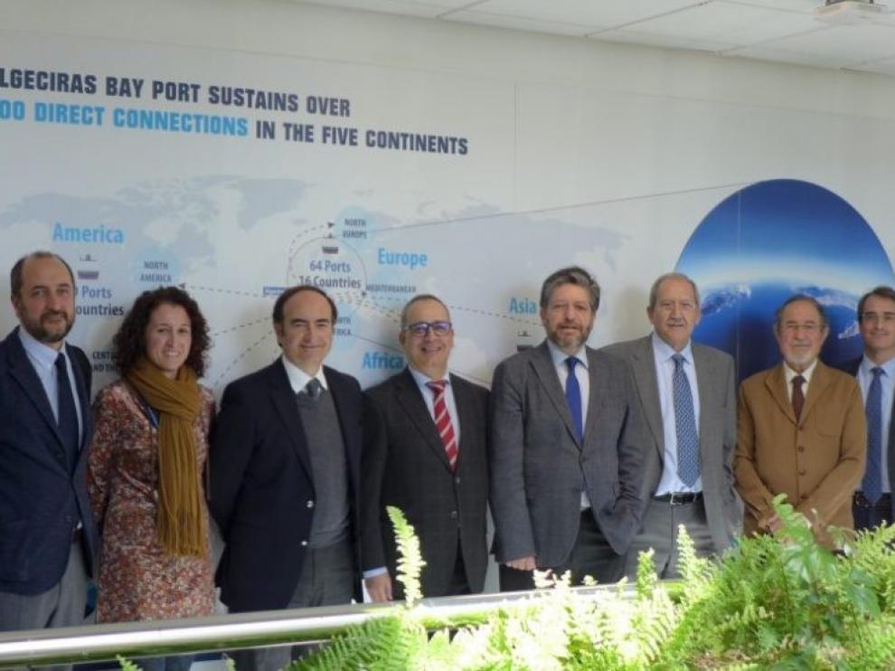 Aragón, Adif y Algeciras reivindican el corredor central hasta Zaragoza