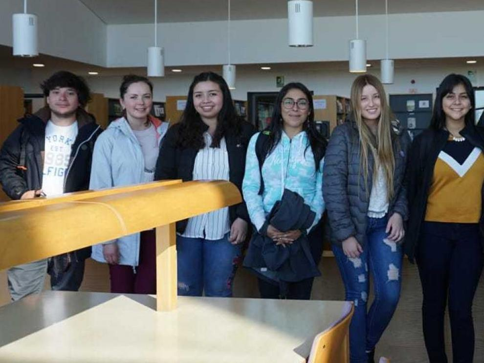 Alumnos de Chile se forman en un curso de horticultura en Huesca