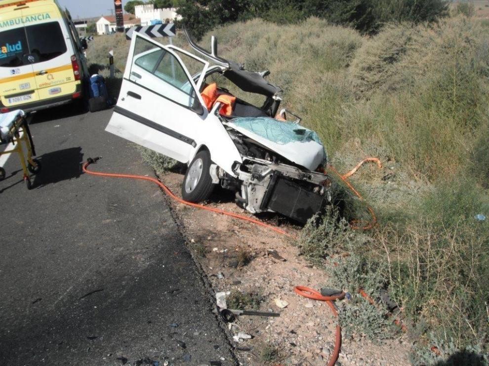 Aragón registró 19 accidentes laborales mortales en carretera