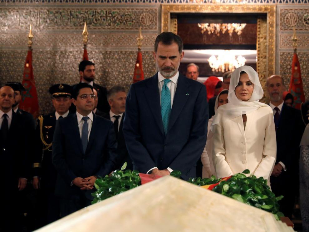 Felipe VI alaba la colaboración migratoria con Marruecos