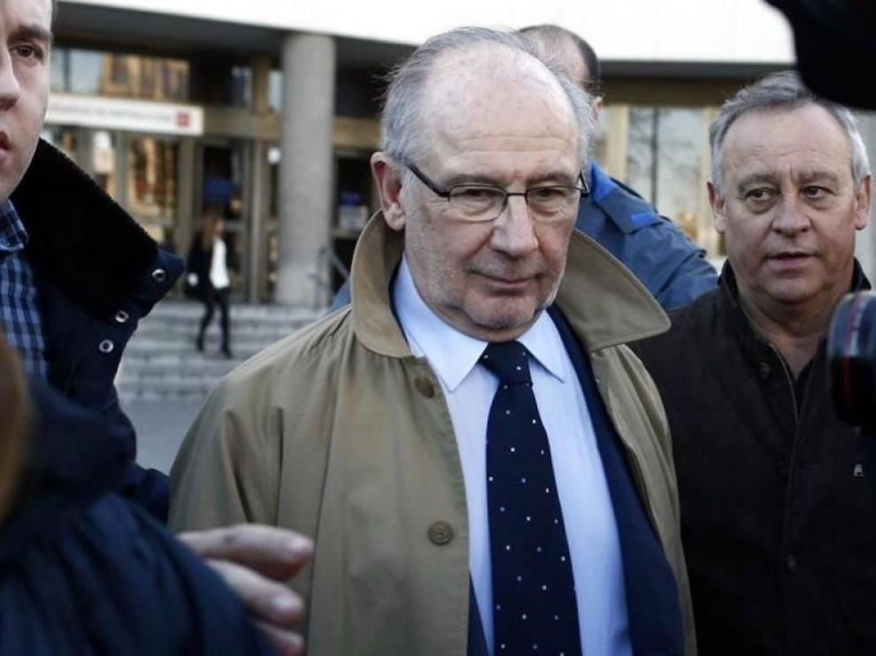 El juez rechaza investigar las cuentas de Rato en el extranjero