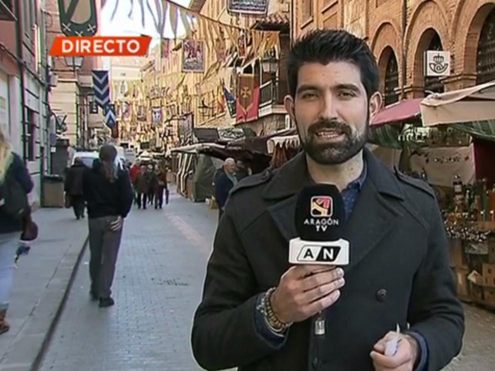 Isabel de Segura se casa en Teruel con la TV y radio autonómicas de testigos