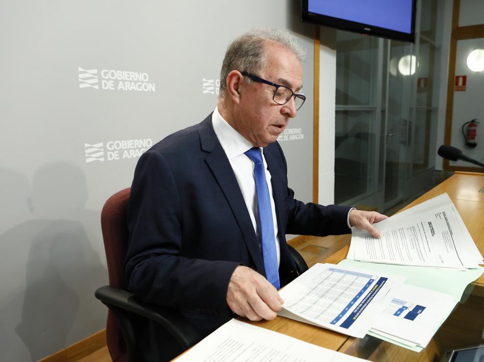 La ejecución presupuestaria en Aragón se situó en el 96 por ciento en 2018