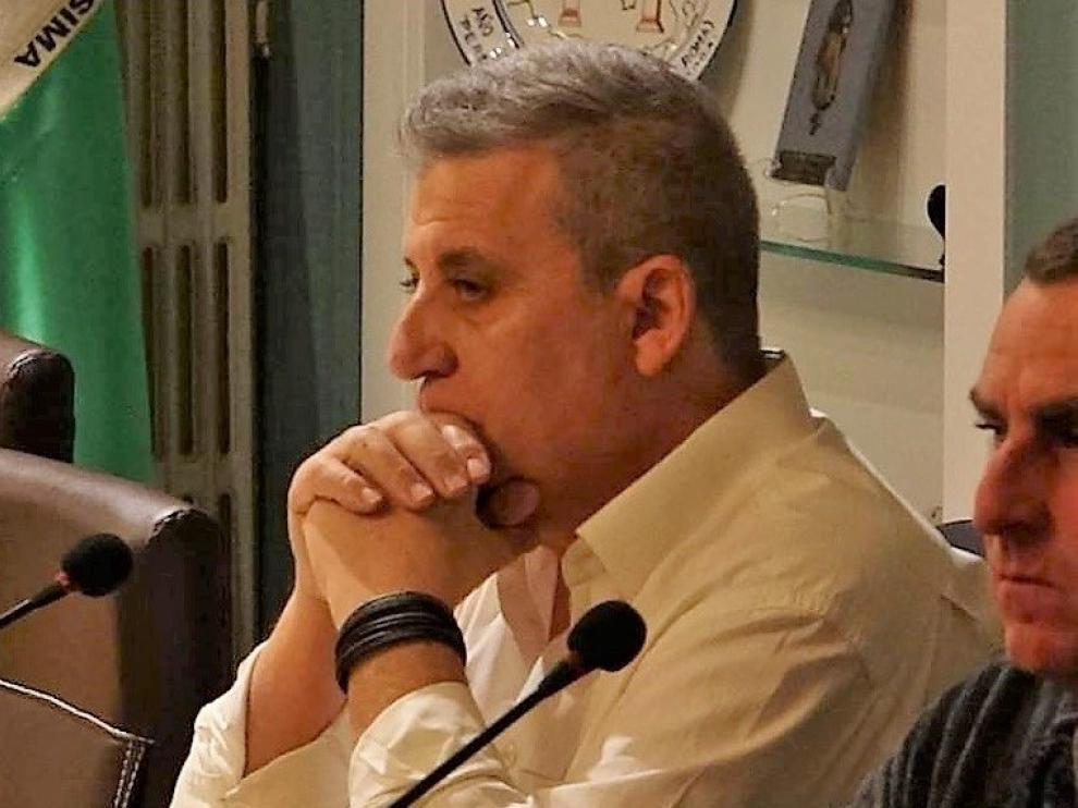 Ángel Cabrera, candidato de Compromiso Por Fraga en las elecciones municipales de mayo