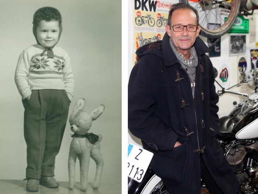 Paco Sierra, loco por las motos y otras cosas
