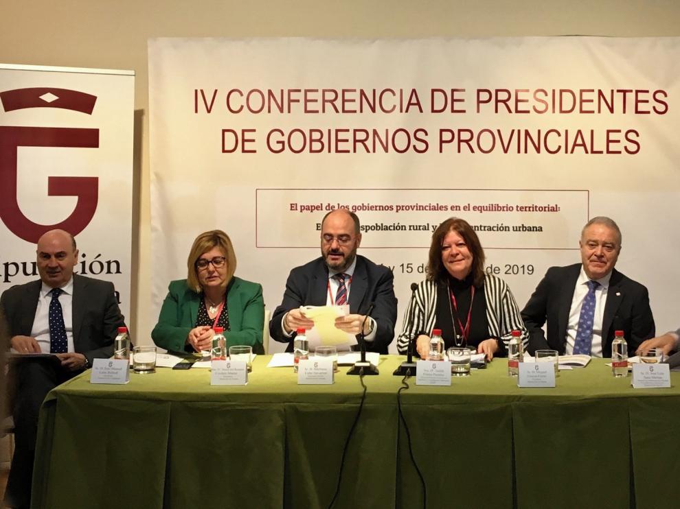 Miguel Gracia reivindica la alianza entre medio rural y urbano contra los desequilibrios