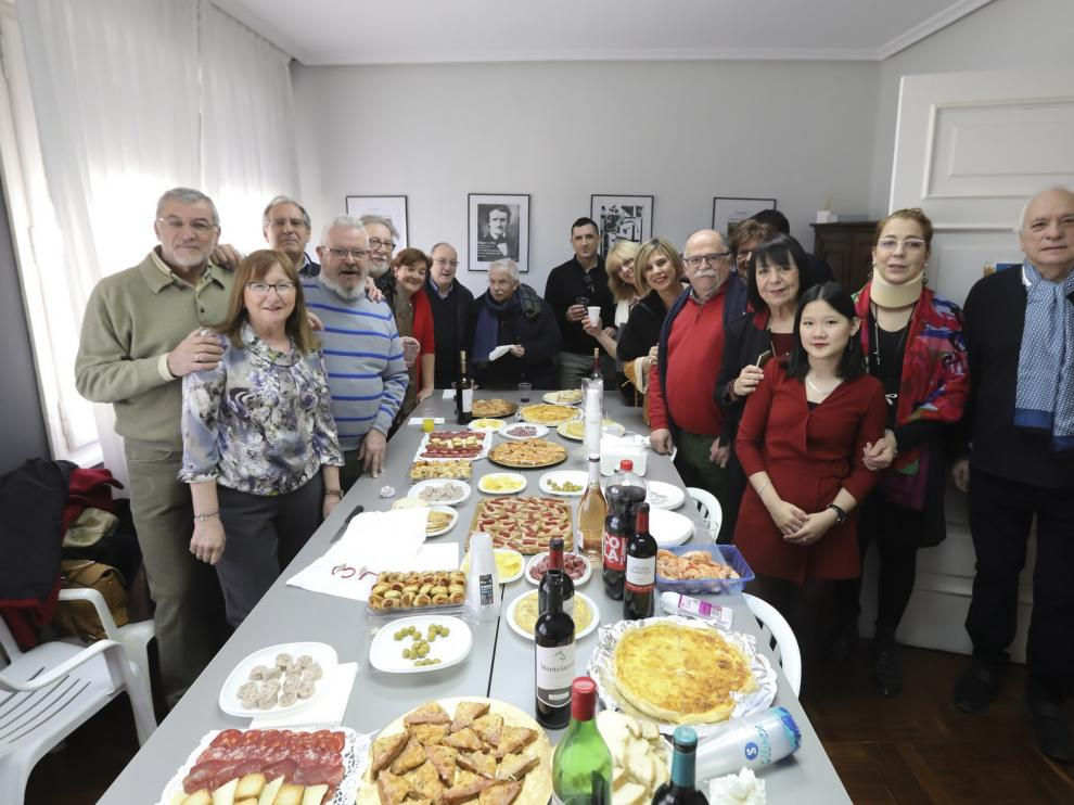 Aveletra inaugura su nueva sede en La Casa de la Música de Huesca