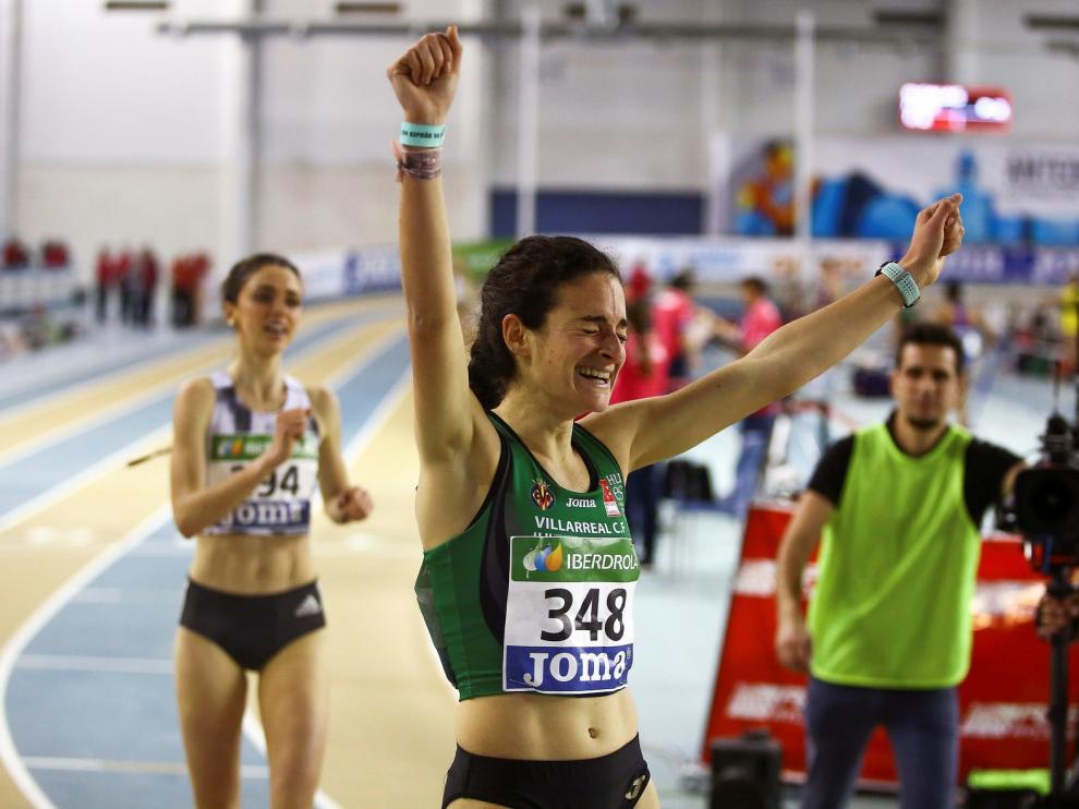 """Cristina Espejo, reina de los 3.000 metros lisos: """"La primera sorprendida he sido yo"""""""