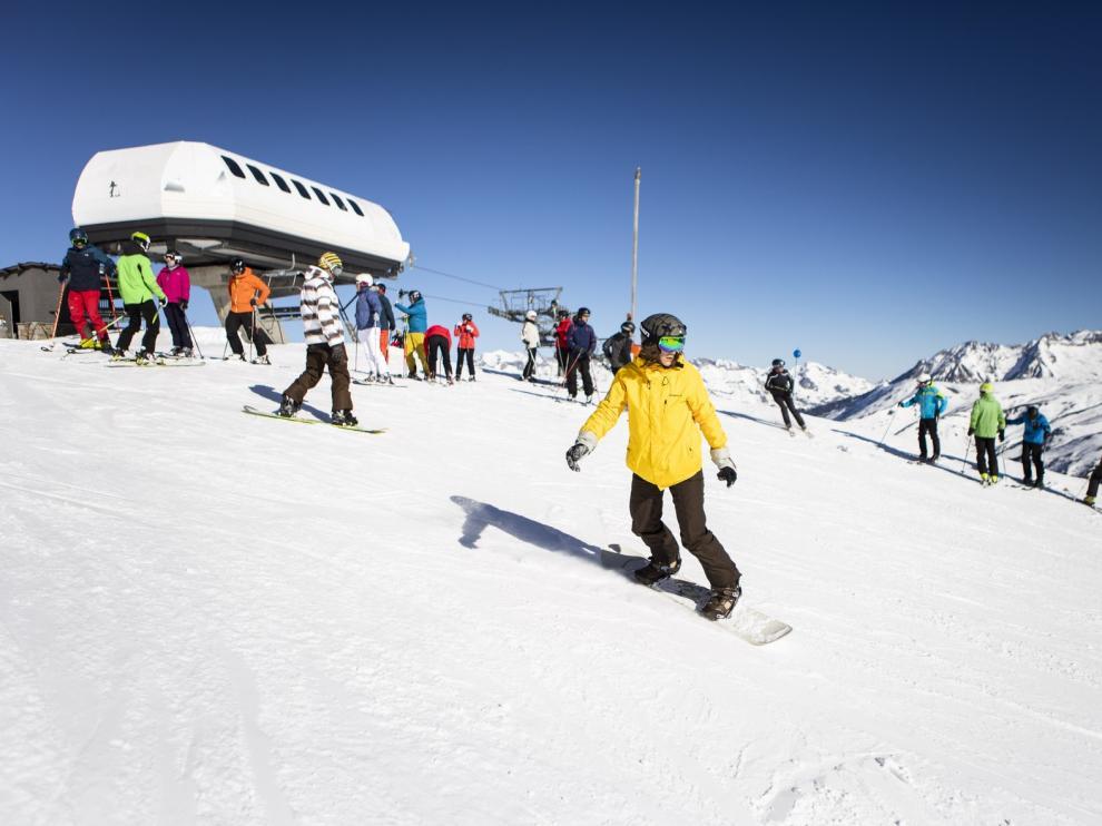Culmina el mejor fin de semana de lo que va de temporada en las estaciones de esquí del Pirineo