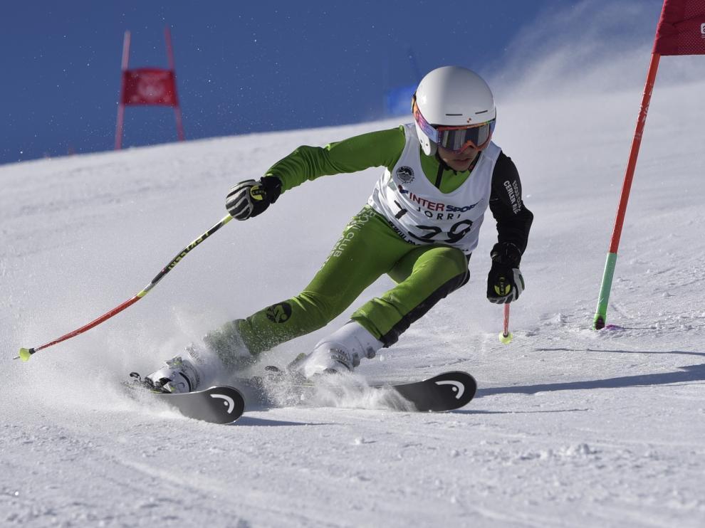El Trofeo Valle de Astún, con doscientos alevines