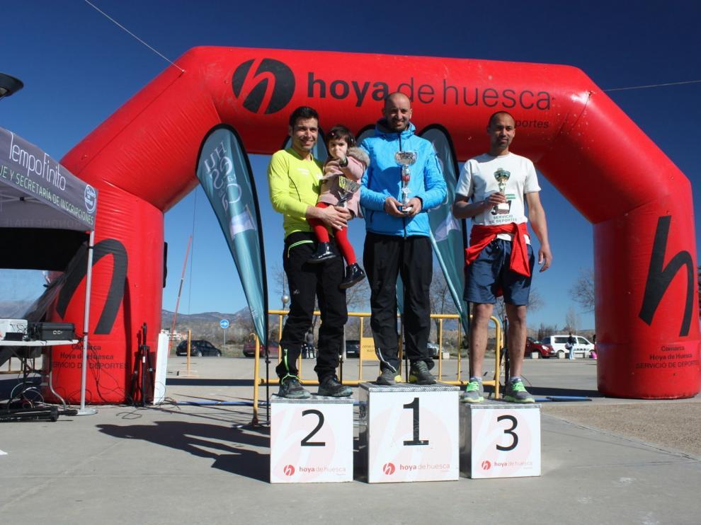 Bouali y Guérin triunfan en el II Trail Hoya de Huesca