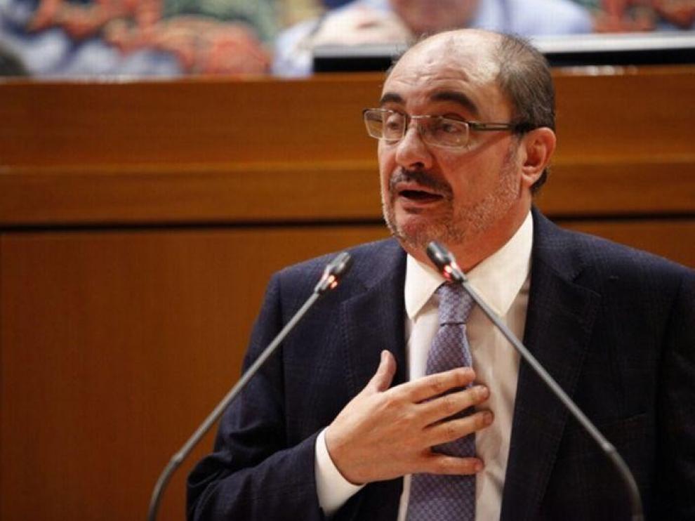 Lambán recuerda a Soro que el PSOE suele apostar por ir solo a las elecciones