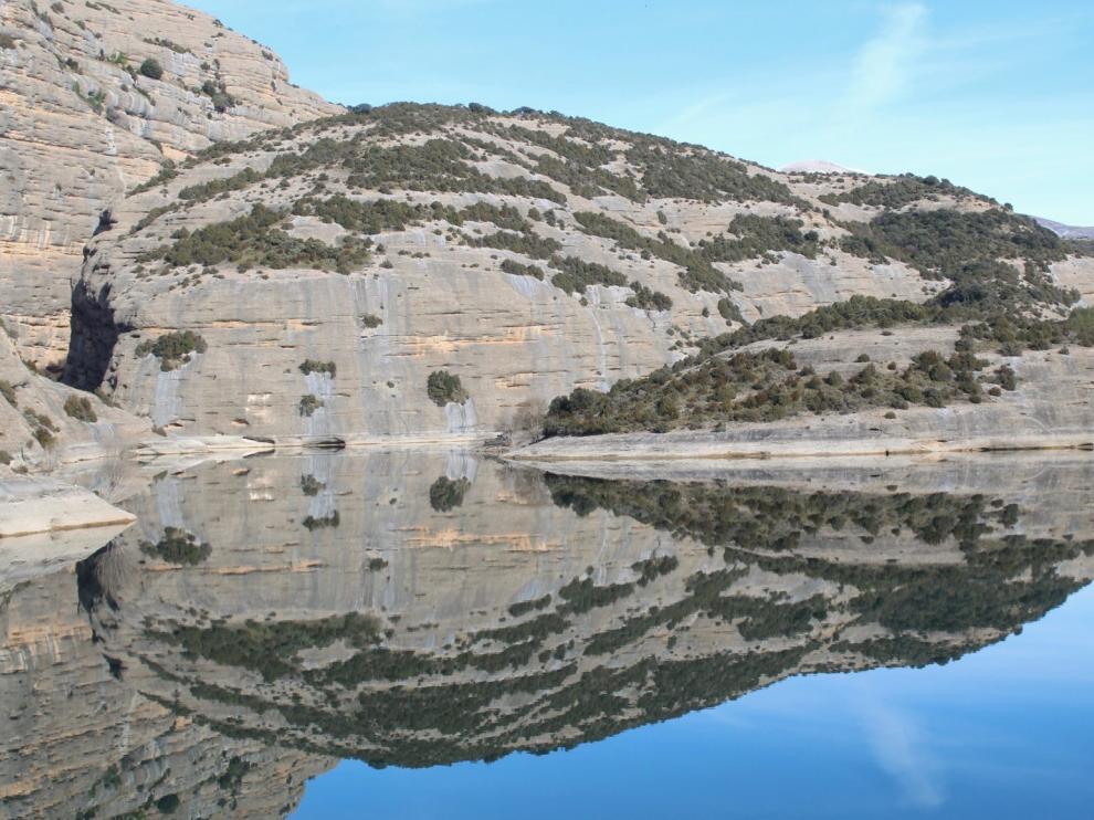 Los embalses de la Cuenca del Ebro se encuentran al 78% de su capacidad