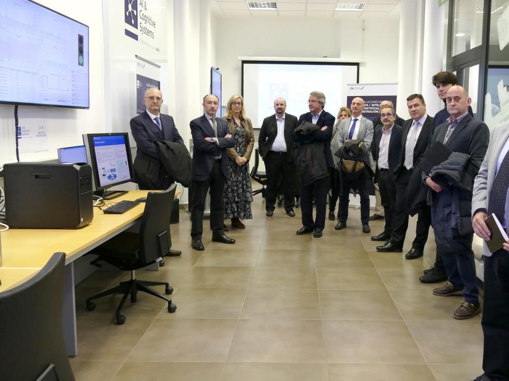 Altos cargos del Gobierno de Aragón reciben formación en ITAINNOVA sobre nuevas tecnologías