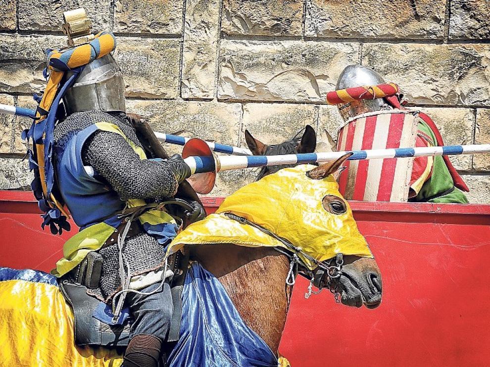 Jousting Iberia recupera y recrea la equitación histórica