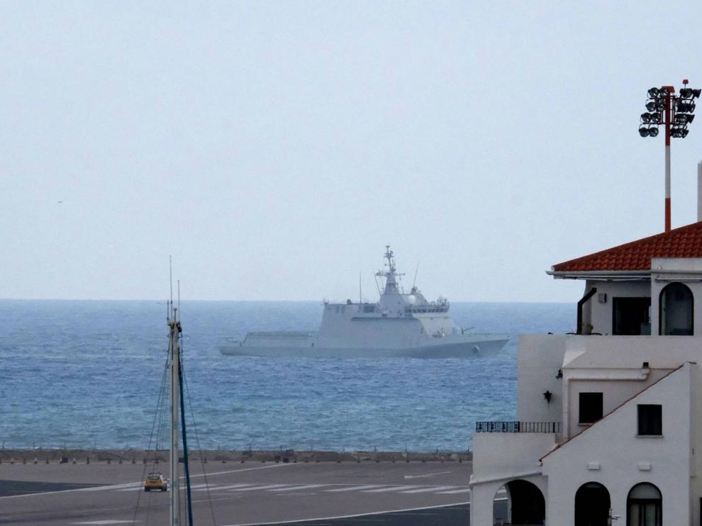 """Gibraltar acusa a un buque español de """"provocación"""""""