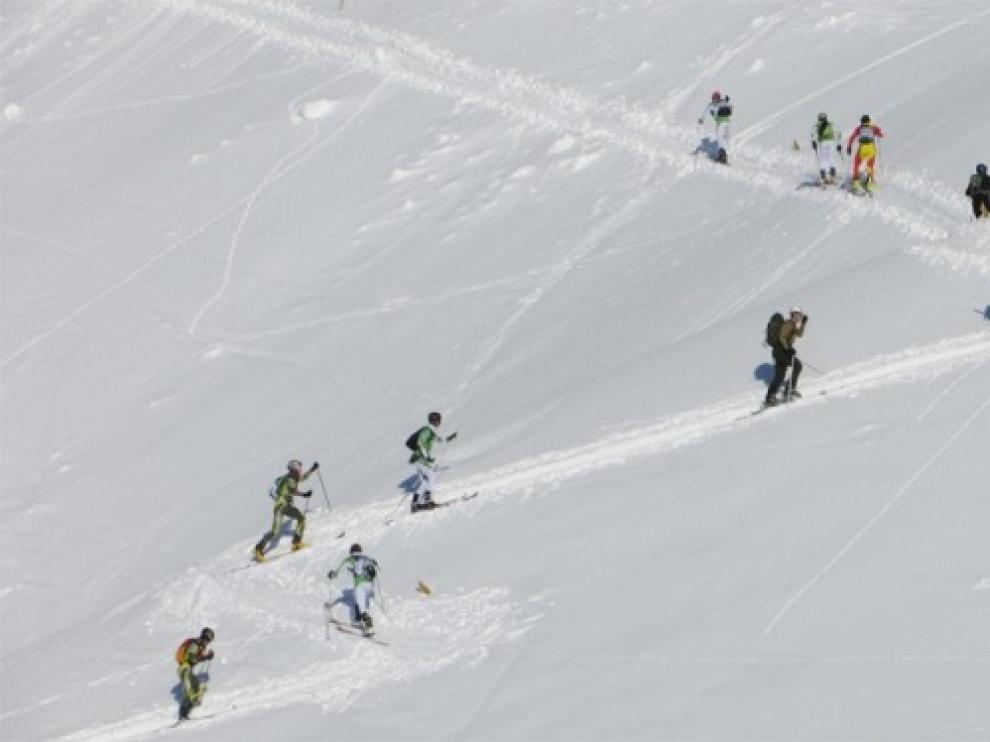 El Valle del Aragón acoge los campeonatos Nacionales Militares