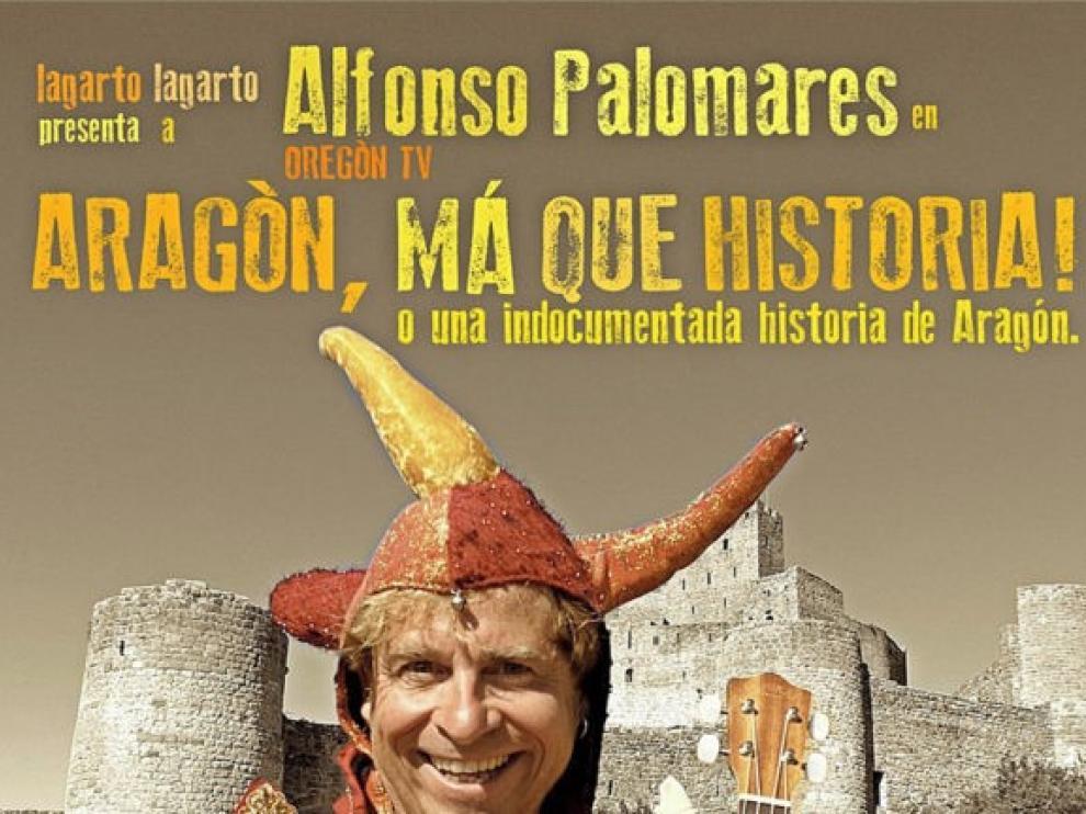 """Alfonso Palomares presenta en Binéfar el espectáculo """"Aragón, má qué historia!"""""""