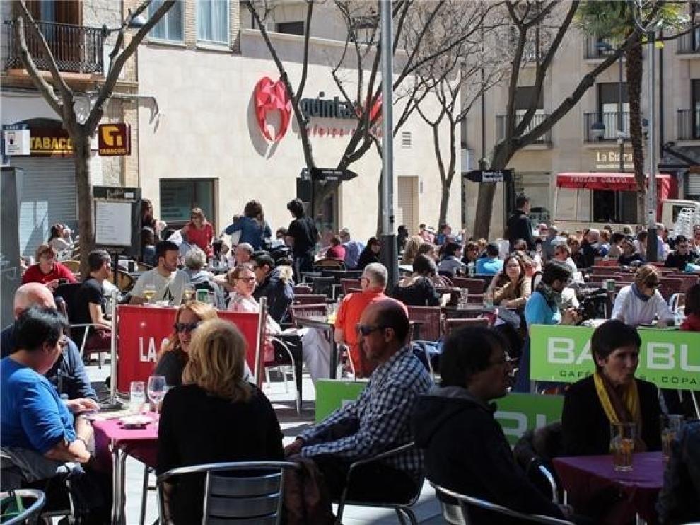La tasa de empleo joven llega al 71,2 % en Aragón, un 3 % menos que en 2018