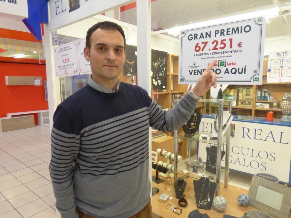 La Bonoloto deja más de 67.000 euros en Barbastro