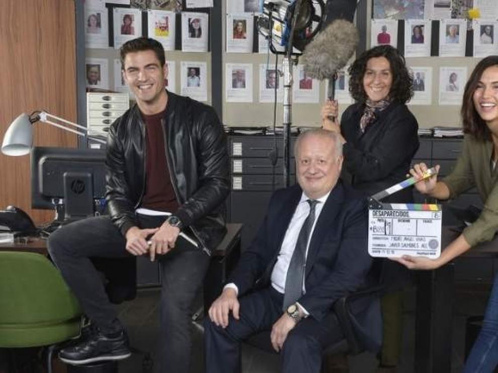 """Telecinco prepara la serie """"Desaparecidos"""", con Juan Echanove y Elvira Mínguez"""