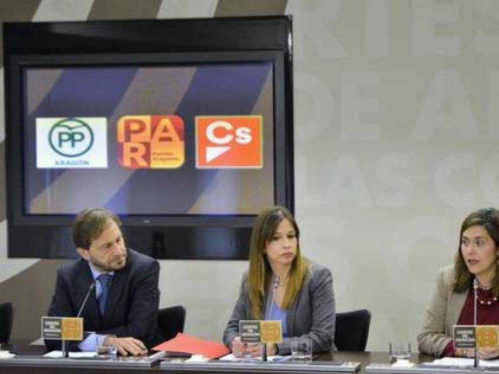 PAR, PP y Cs defienden la custodia compartida y unidad en el derecho foral