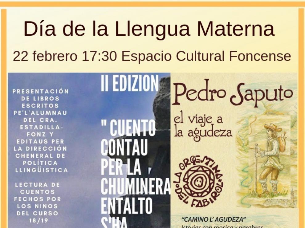 Cuentos escolares y un concierto serán los actos del Día de la Lengua Materna en Fonz