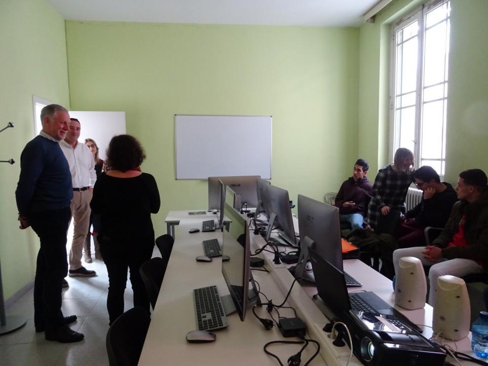 La Escuela de Segunda Oportunidad de Huesca ha atendido a 18 jóvenes desde noviembre