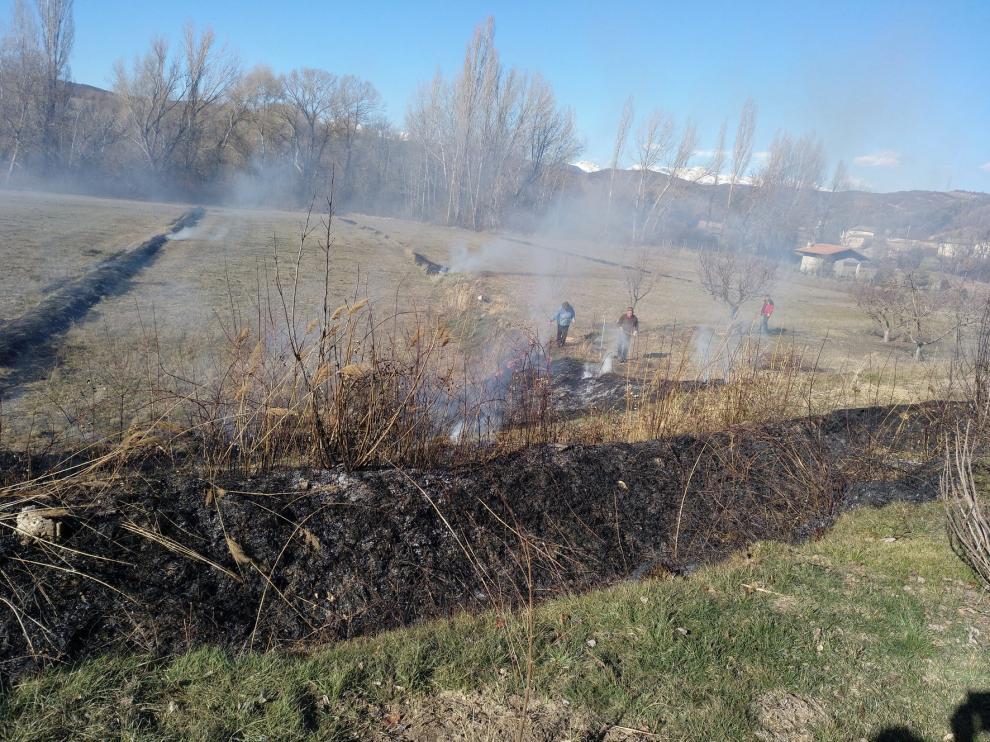 Fallece un hombre en una quema agrícola