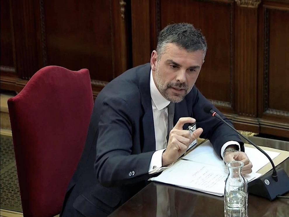 Procés: Jordi Sànchez combate la rebelión y niega asalto violento y alzamiento